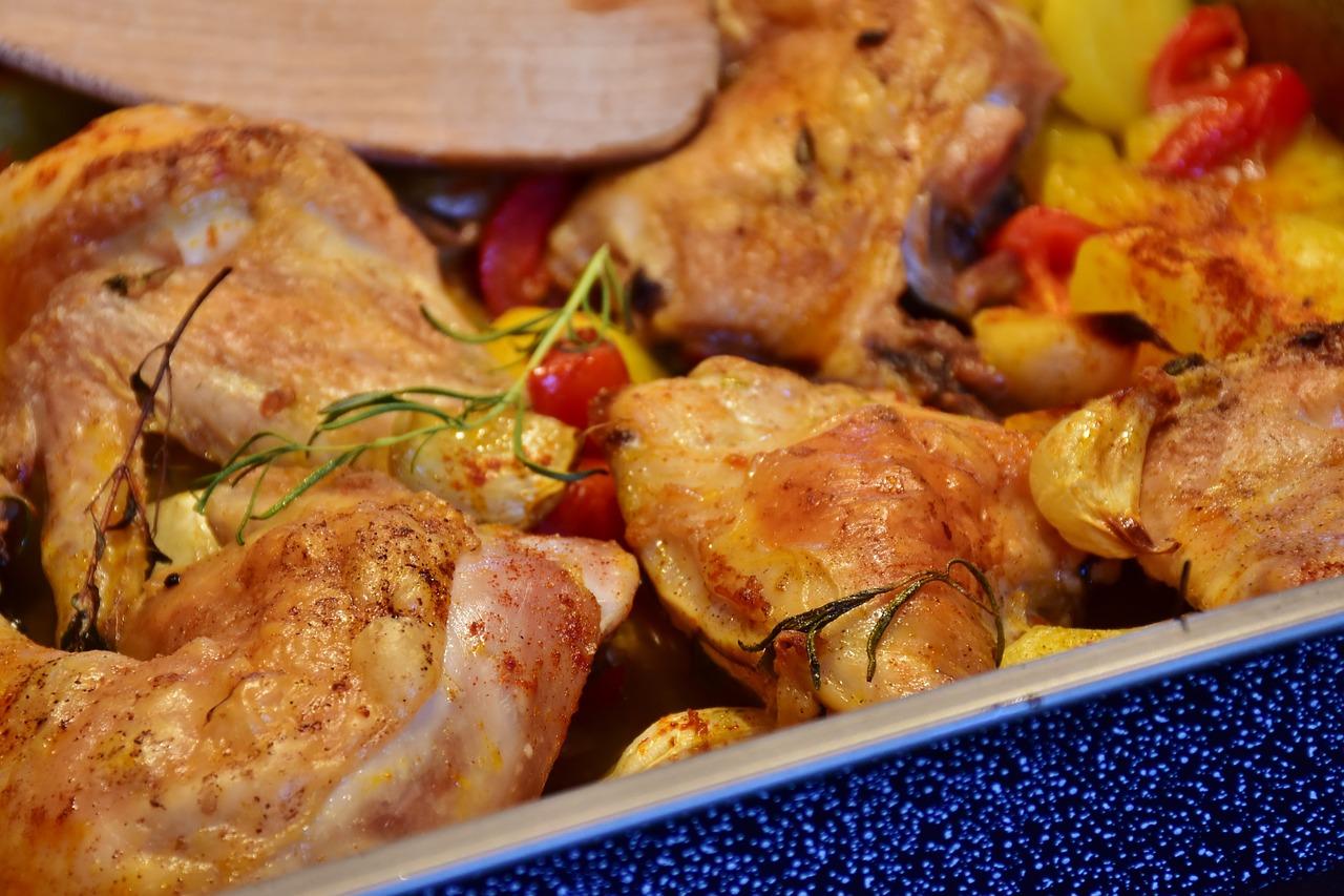 Пиле с естрагон