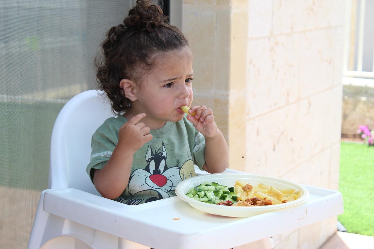Храната на децата в България