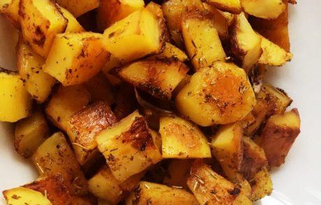 Запечени хрупкави картофки