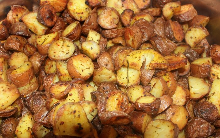 Хрупкави запечени картофи