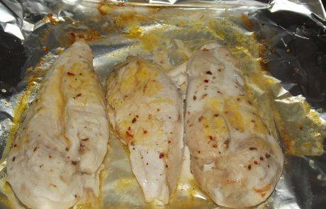 Шпиковани пилешки гърди