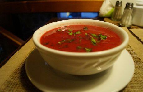 Супа с домати и морков
